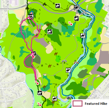 Map of Chestnut Oak / Mountain Laurel Hike