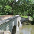 Antietam bridge and monument